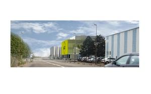 Bâtiment de bureaux et bâtiment industriel