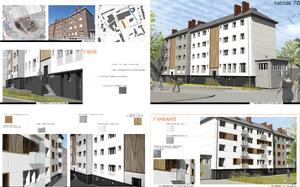 Amélioration de la performance énergétique de logements collectifs Agglo de Rouen